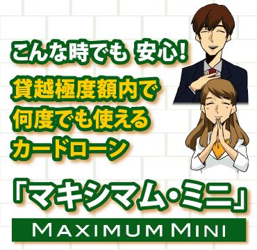 大垣共立銀行のカードローン「マキシマム・ミニ」