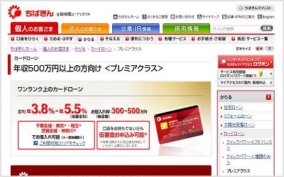 千葉銀行「プレミアクラス」